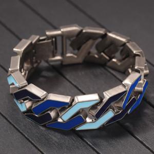 Bracelet de chaîne de liaison cubaine pour bracelets hip hop hip hop bijoux