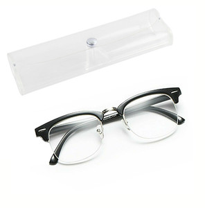 Reading Glasses Classical Black with Crystal Clear Vision, Flexible Spring Hinge Arms & Tight Screws, for Men and Women