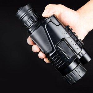 cgjxs의 HD 사냥 적외선 디지털 야간 단안 망원경 5X40 장거리 전술 장비 핸드 헬드 범위 높은 품질 T191022