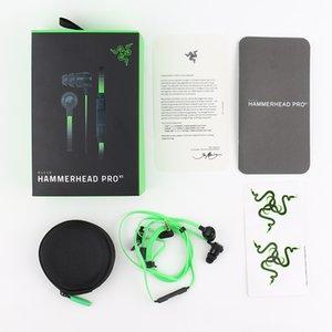 Razer Hammerhead Pro V2 наушники в ухо наушник с микрофоном с розничной коробки в ушных Игровые наушники Stereo Bass 3,5 мм