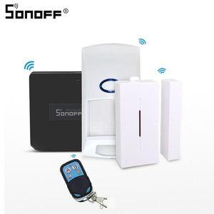 mart Home Automation Module SONOFF Brücke Wifi 433MHZ RF Remote Control RC Signal Konverter-Schalter Wireless Sensor DW1 PIR2 Smart Home S ...