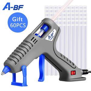 A-BF 100W EU DIY heiße Schmelzkleber-Gewehr 11mm Klebestift Rod Industrie Electric Silicone Gun Thermo Gluegun Repair Heat Tool