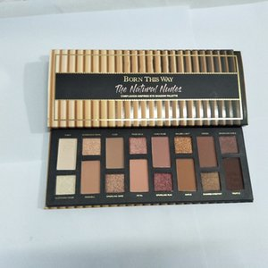 Eye Cosmetic Born This Way The Natural Nudes palettes 16 colors Eye Shadow Shimmer Matte Makeup Eyeshadow Palette