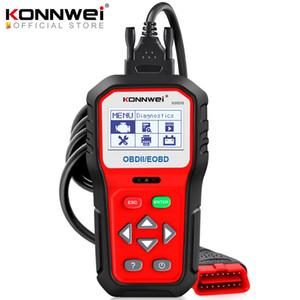 KONNWEI KW818 Enhanced OBDII ODB2 EOBD автомобиля диагностический сканер 12V Battery Tester Check Engine Engine Автомобильный Code Reader Tool