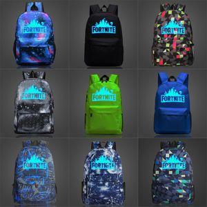 2020 GD mejor alta calidad del precio del totalizador del bolso de hombro Fortnite Fortaleza Noche luminosa mochila escolar BAG 718 # 526