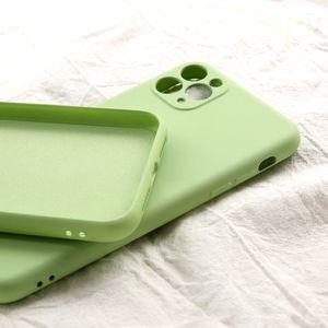 TPU Soft Phone Case Feeling кожи Силиконовые чехлы с бархатной внутри для iPhone 11 Pro MAX XS XR SE 2 микрофибры внутренней