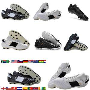 رجل كأس مونديال جلدية FG كرة القدم أحذية كرة القدم المرابط 70Y FG 2019 كأس العالم لكرة القدم أحذية الحجم 39-45 أحذية كرة القدم botines فوتبول
