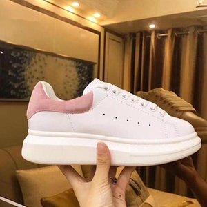 Hommes Chaussures Beyaz Sneakers Yürüyüş Ayakkabı Ballet Flats Kadın Ayakkabı Casual Ayakkabı Üst Kalite Gerçek Deri Sneakers Bay Bot
