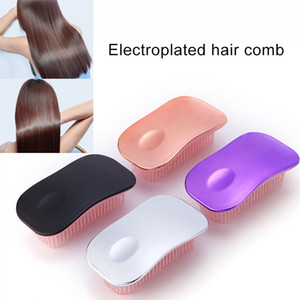 1 Pcs Massage Scalp Hairbrush Comb with Soft Bristles Hairdressing Comb 669
