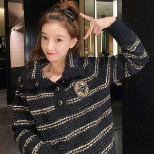 20FW Women Sweater Autumn Hoodie Winter Sweatshirts Fashion Lady Sweaters Shirts Letters Printed Streetwear Wool Clothes Size S-L
