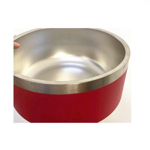 2020 Newest 32oz Stainless Steel Dog Bowl 5 Colors Non-Slip Dog Dishes Bowls For Dogs