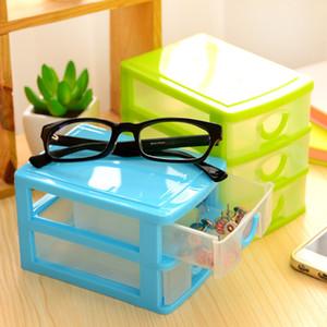 Новый практический Съемные DIY Desktop Storage Box прозрачный пластиковый ящик для хранения ювелирных изделий Организатор держатель шкафы Предметы