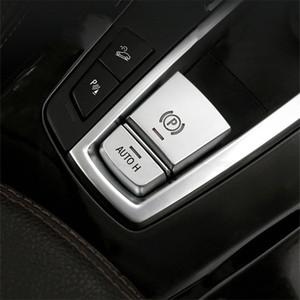 AUTO H Электронный Handbrake Кнопки P Файл блестки украшения крышки уравновешивания для BMW X5 E70 F15 X6 E71 F16 автомобиля Стайлинг интерьера