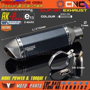 Modifiziertes Motorrad AK-P513 Auspuff Universal Schalldämpfer Für CB CRB YZFR EXC SXF R6 ZX-6R ZX-10R GSXR Scooter ATV X2c2 #