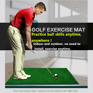 30x60 cm new golf mats two-color grass indoor mini practice mats swing mats with tee hole