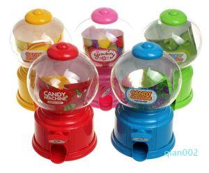 Snacks Mini Pequeño para Machine Bubble Dusty Dispenser Candy Bank Kids Gumballs Toy Gumball Moneda de cacahuetes de plástico y pequeño SN4224 ICWMA