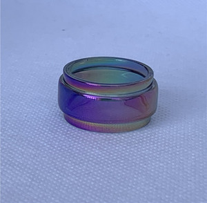 Rainbow Glass Tube Convex Bubble For GeekVape Ammit 25 Blitzen Aegis Mini 2ml 5ml 5.5ml RTA Kit Tank Fatboy Replacement Extension Bulb