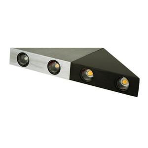 Feimefeiyou DIY led bar multi-colors lampada led Aluminum Body Triangle Wall Light For Home Lighting lanterna Wall Sconce