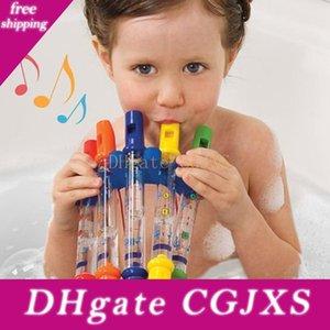 Fünf farbige Wasser Flute Baby-Kinder frühe Kindheit-Badezimmer-Bad-Spielzeug Wasser Play Music Flute Baby-Kind-Geschenk-Spielzeug Ffa2076