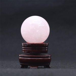 Venda Detalhes no Gemstone Atacado Crystal Rosa Natural 265g Para Cura Sphere Bola Home Ball Small / rosa HJT powerstore2012 gvOiB