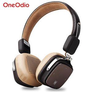 Oneodio auriculares inalámbricos Bluetooth plegable 4 estéreo / Wired Sport 0.1 Auriculares 500mAh auricular inalámbrico con el Mic para Smartphone T6190617
