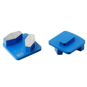 Бетонный пол Алмазного шлифовальных Сегменты Redilock Двойной Батончики шлифовальной головки для Гуса-qvarna Grinder терраццо пол Polsihing 12PCS