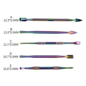 E-Cig Zubehör Smoking Winding Coil Werkzeug Bunte Pick-up Dab-Werkzeug für Wax Dry Herb Glas Wasser Bong Dabber Werkzeuge