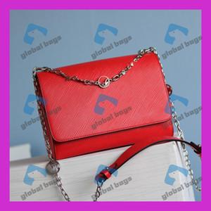 Mulheres Messenger Bag Mulher Bag Mulheres Moda Sólidos Crossbody ombro Cor Cover Lock