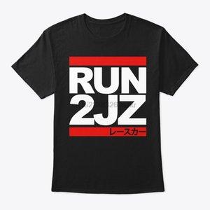 Мужчины T Shirt Car Run 2JZ Auto Racing Рубашка Женщины T-Shirt
