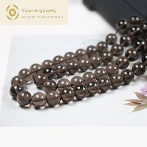 Natural de cristal chá semi-acabados Contas solta pérolas redondas DIY acessórios jóias criativa accessorie DIY acessórios criativos