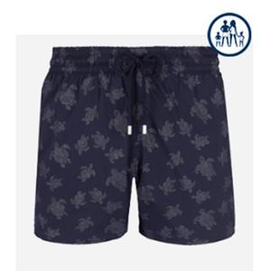 Vilebrequin Плавки STRETCH DIAMOND TURTLES Новые Summer Casual Шорты Мужчины Мода Стиль Мужские шорты бермуды пляжные шорты