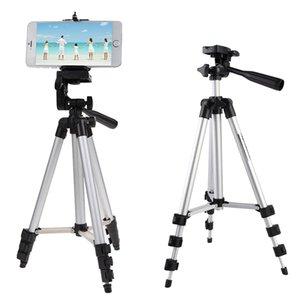 Tripods Aluminum Professional Camera Tripod Stand Holder For Digital Camcorder Samsung Smart Phone