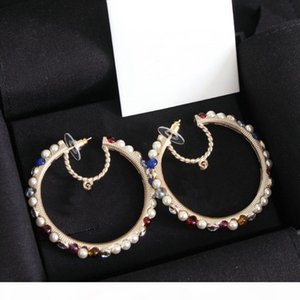 Fashion Have stamps moon earrings for lady women Party wedding lovers gift engagement jewelry for Bride With BOX HB410