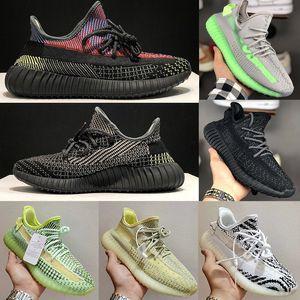 2020 Adidas yeezy kanye West 350 V2 Static Refective Exécution chaussures Beluga 2.0 sésame beurre semi crème jaune blanc Frozen Black Zebra Hommes Femmes Sneaker 36-47