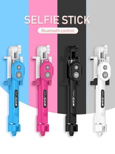 2020three-in-One Multifunktions-selfie Stick Handy universal integrierte Bluetooth selfie Artefakt Stativ selfie Stick Mini-Stativ für