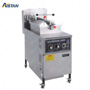 MDXZ25 Gas Commercial Chicken Pressure Fryer for frozen chickens with manual control panel