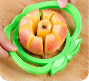 Cucina di Apple Affettatrice Corer taglierina pera frutta divisore Strumento Comfort Maniglia per la cucina di Apple Peeler