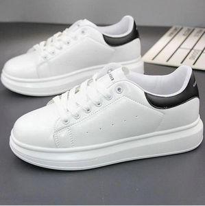 Mejor Qulity Hombre para mujer Chaussure Shoe Beautiful Platform Sneakers Casual Sneakers Diseñadores de lujo Zapatos Cuero Sólido Colores Vestido Zapato I09