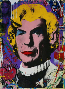 Г-н Brainwash Граффити Mr Spock Home Decor расписанную HD Печать Картина маслом на холсте Wall Art Canvas картинки 200814
