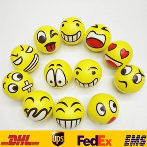 QQ İfade Komik Topu Toys 6,3cm Çocuk Yüz QQ El Porselen Duygusal Chirstmas Parti Hediyeleri HH-T29 YVK # Boyalı