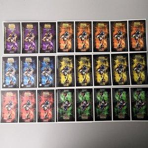 Ak-47 Packwoods Gummie Moonrock Dankwoods Sacs poinçon de pré-roll cerise chaud autocollants pourpre Tubes étiquettes d'emballage Joint pp2006 MbAso