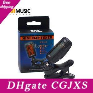 Eno Et -37 LCD-Miniclip -Auf E-Gitarre chromatischer Baß-Violine Ukulel Tuner Blasinstrument Universal-Mu0434