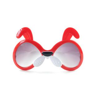 New cute animal sunglasses 2020 Ear decorated cool children's mirrors Girls and Boys Kids Sunglasses universal sun visor wholesale ESYC3162