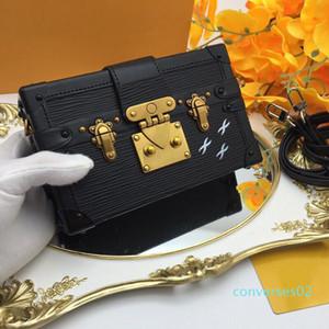 Moda in pelle borse donna borsa da sera di lusso caldo di sicurezza Commercio all'ingrosso - progettista Pochette Tracolla Messenger Petite Malle 94219 CO02