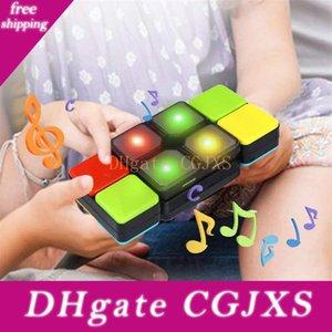 الموسيقى مكعب ذكي لغز التحدي ماجيك كيوب مع الموسيقى الالكترونية للطفل والأطفال لغز مكعب
