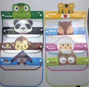 Máscara Crianças Cartoon Face escudo anti-fog Isolamento Máscara completa Protecção Protecção PET transparente respingo cara Escudo Head Cover CCA12416