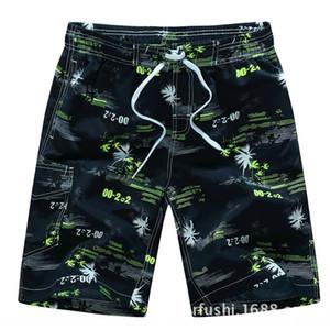 moda casual Tianpulun verano nuevos hombres recortada Shorts tobillo de longitud pantalones de playa pantalones cortos de moda impresos Beach 1526 # VAAy0