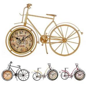 خمر ريترو دراجات شكل الجدول الإبداعية المنبه ديكور المنزل الإبداعية ساعة الطاولة الأشغال كول إنذار الفن ديكور