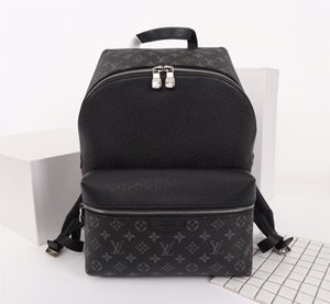 Las mochilas de diseño de tendencia campus clásicos para hombre de cuero real de lujo del pvc diseño de moda bolso mochila para portátil Hombres multicolor 37x40x20cm