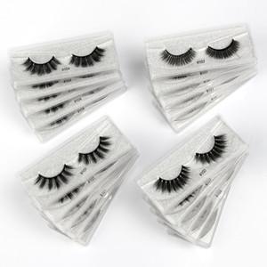 Wholesale Eyelashes 20 30 50 100 pcs 3d Mink Lashes Natural Mink Eyelashes Wholesale False Makeup False Lashes In Bulk